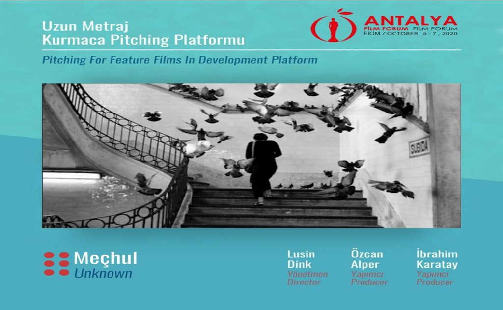 Our film UNKNOWN is selected for Pitching for Feature Films in Development at Antalya Film Forum